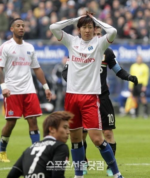 Son Heung-Min @ Hamburger SV 2012-2013 [R]