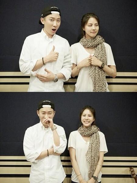 프라이머리, 박지윤과 다정샷…'웃음보 빵 터졌네~'