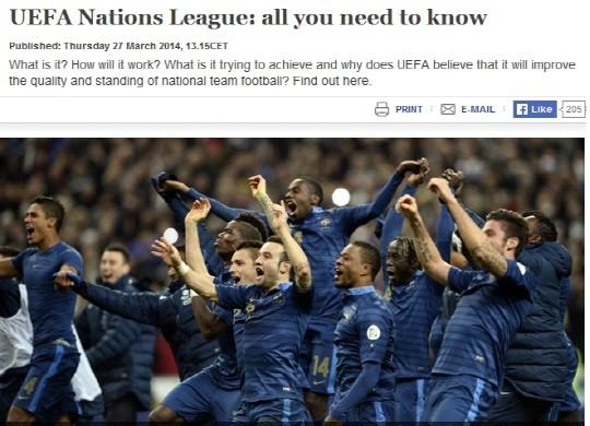 UEFA, 네이션스리그 창설한 배경은?