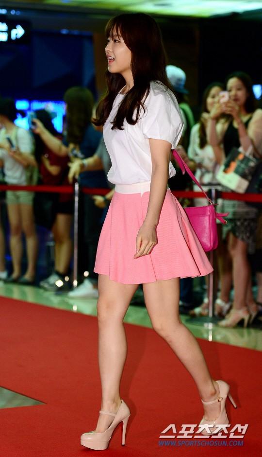 [포토] 박보영, '화사한 핑크빛 스타일'
