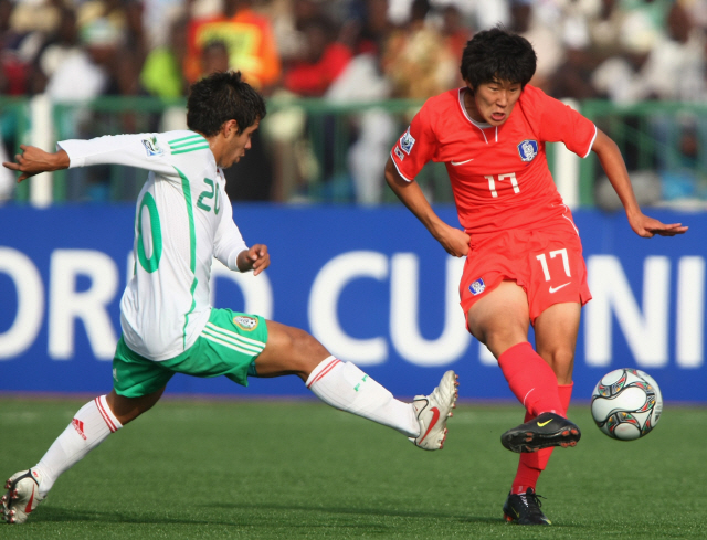 [U-17 월드컵]'캡틴' 손흥민의 응원