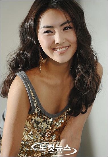 홍인영의 미소