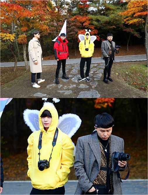 '집사부일체' 멤버들 사부 위한 영정사진 촬영기