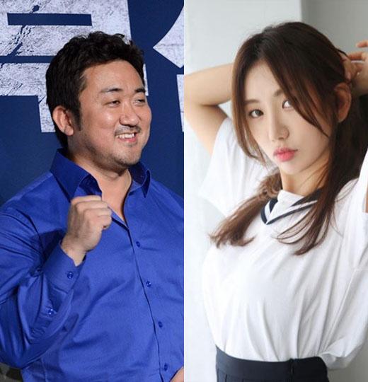 """마동석 예정화, 열애 공식 인정 """"운동+영어가 맺어준 인연"""" 나이차 보니"""