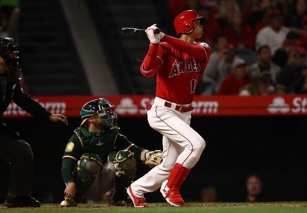 3경기 연속 홈런 오타니, 몸쪽 공엔 고생할 수도