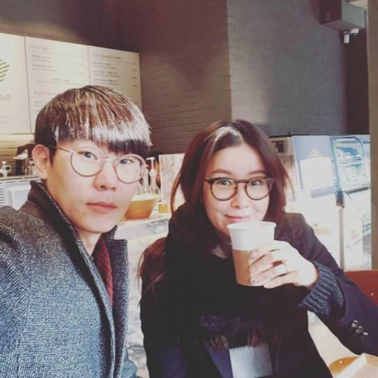 '스카이캐슬' 이태란 남편과 커피 한 잔, 남편은 벤처사업가