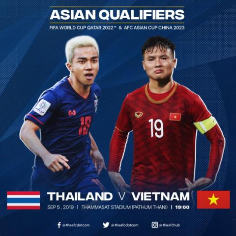 [오늘 축구경기] 태국-베트남, 전반전 0-0 마쳐…월드컵 아시아 예선