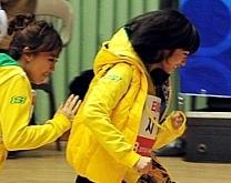아이돌육상선수권대회 '관심집중'…폭설 뚫고 달린 아이돌 육상선수권대회