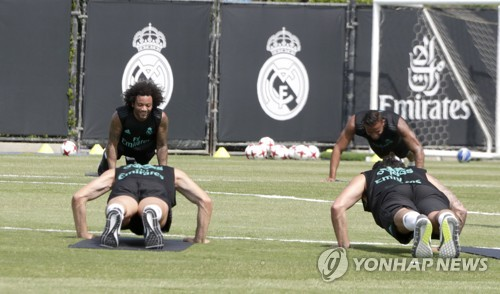 USA SOCCER REAL MADRID PRACTICE - 포토뉴스