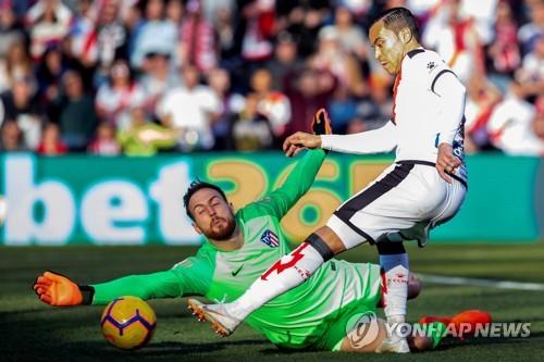 alineacion del atletico de madrid 2019