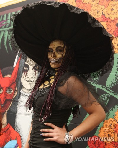 MEXICO DAY OF THE DEAD - 포토뉴스