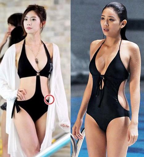 이태임vs클라라, 절개 수영복 몸매 비교하니…