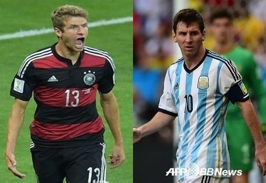 독일-아르헨티나, 24년 만에 결승 격돌..독일 또 웃나?