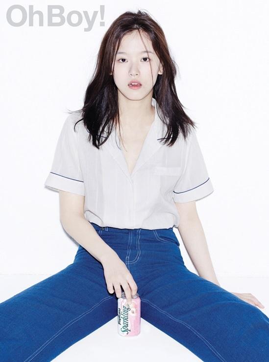 배우 강한나, 청순 섹시의 정석..몽환적인 매력