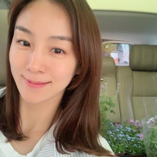 이휘재 아내 문정원, 쌍둥이 엄마의 청순 미모