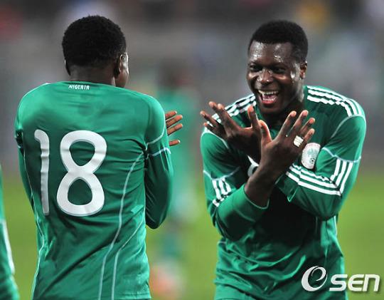 나이지리아, 남아공 현지서 북한 3-1 제압