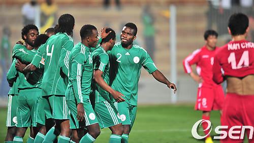 [사진]세번째 골을 넣은 나이지리아