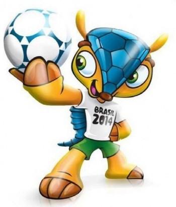'아르마딜로!' FIFA, 2014 브라질월드컵 마스코트 공개