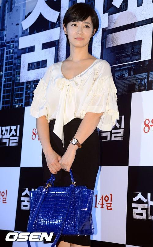 [사진]김주하,'화려한 블라우스'