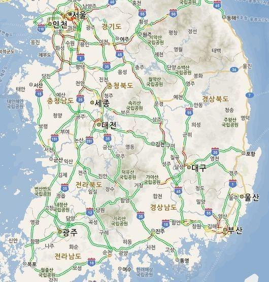 고속도로 교통상황, 서울-부산이 6시간 30분 예상...혼잡