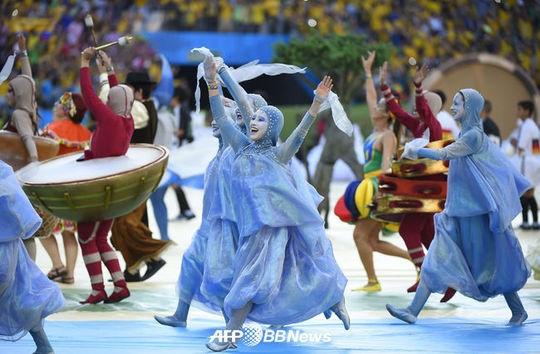 [월드컵 개막식]'꿈의 브라질 월드컵 드디어 개막~'