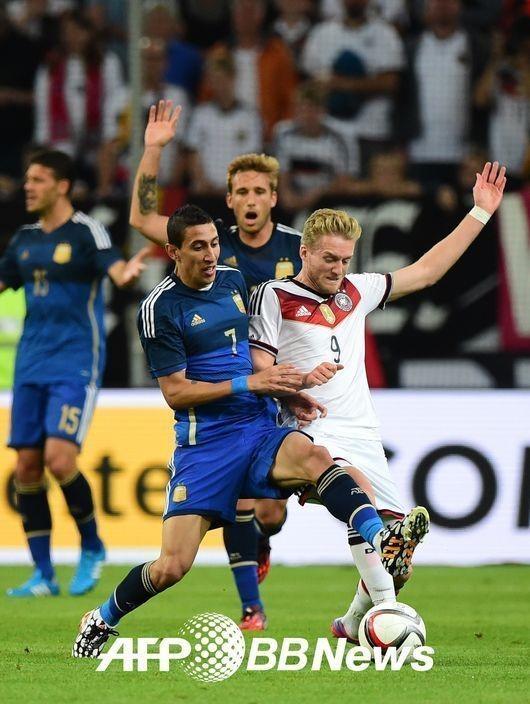 독일 아르헨티나, 월드컵 결승 패배 깨끗이 되갚아