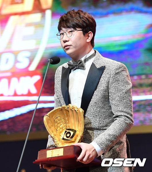 [2017 GG] '양현종 첫 수상-최정 최다득표' 영예(종합)