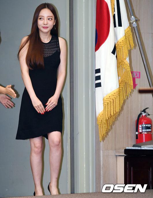 [사진]구하라,'홍보대사의 발걸음'