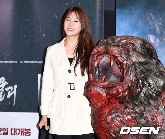 [사진]박규리,'물괴 무섭지 않아요'