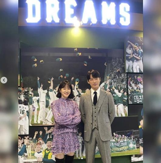 박은빈x남궁민, 드림즈 밝히는 투샷..벌써 '스토브리그' 시즌2 소환 중 [★SHOT!]