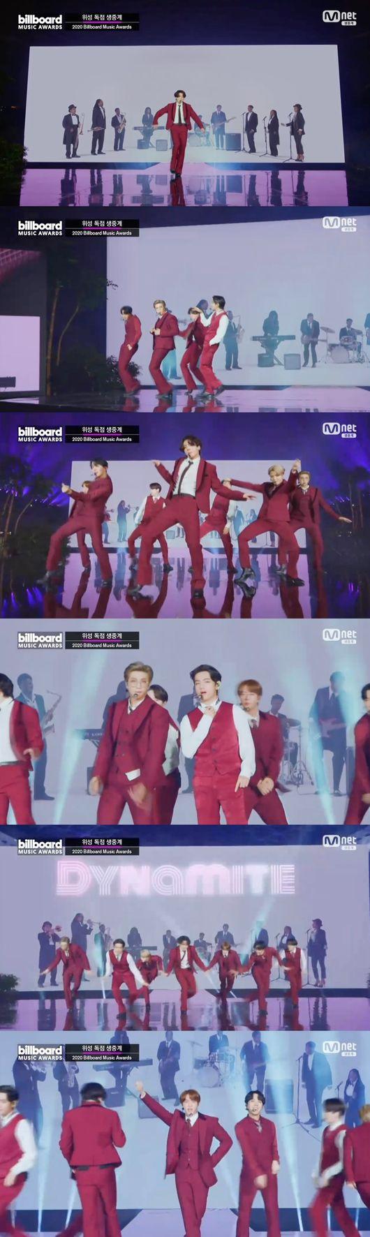 방탄소년단, 4년 연속 '톱 소셜 아티스트'→'다이너마이트' 무대..아미❤︎ing(종합)[2020 빌보드 뮤직 어워드]
