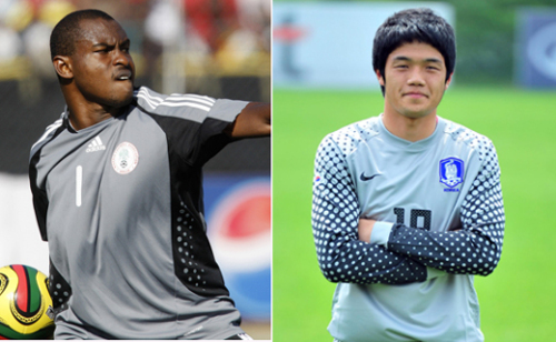 정성룡 VS 에니에아마...나이지리아전은 '수문장 싸움'