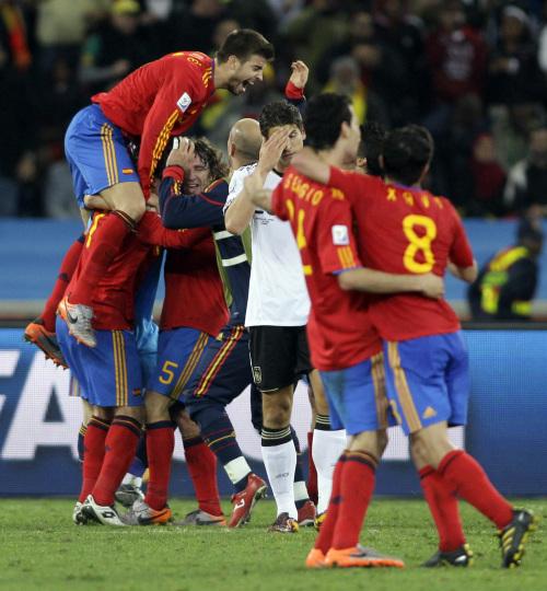 '무적함대' 스페인, 독일 꺾고 80년 만에 결승행
