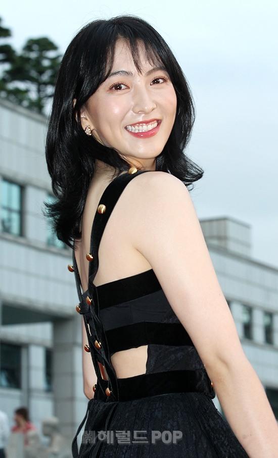 [포토]강지영, 여전히 상큼한 미소