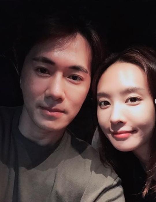 박정아, 남편과 함께한 사진