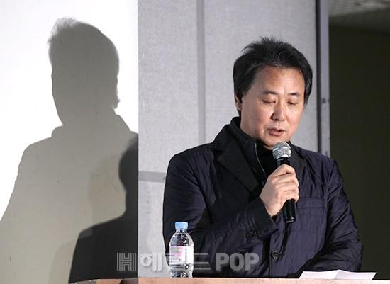 [포토]폭언 폭행 반박 기자회견 나선 김창환 회장