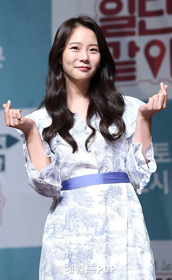 [포토]한승연, 원조 햄토리하트