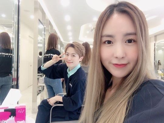 '11월 결혼' 간미연♥황바울, 투샷 공개..선남선녀 예비부부