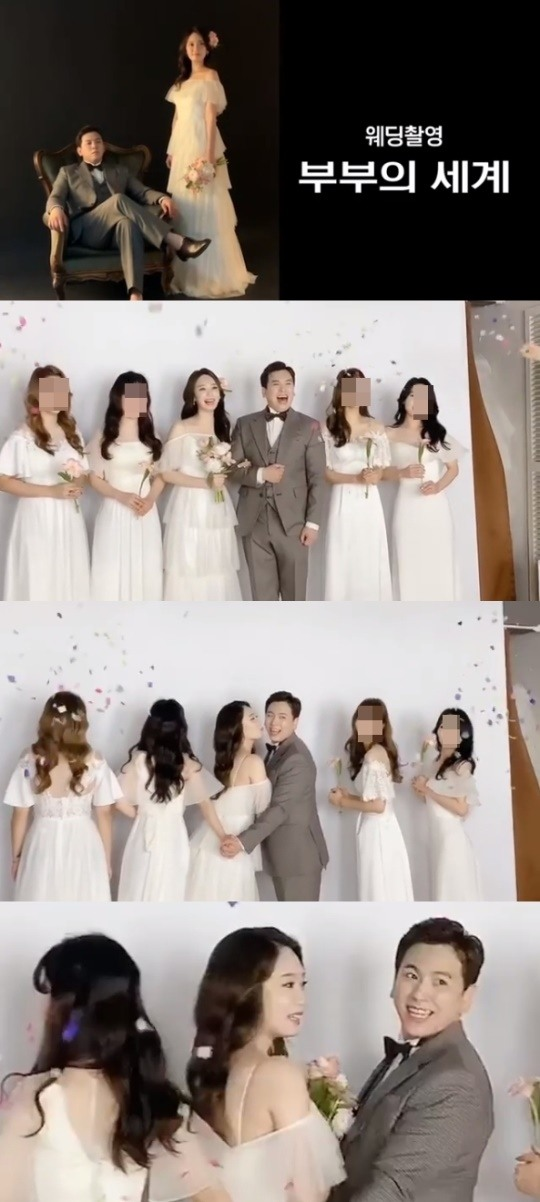 [POP이슈]오인택, 미모의 승무원과 9월 결혼..'부부의 세계' 콘셉트 웨딩 촬영 공개