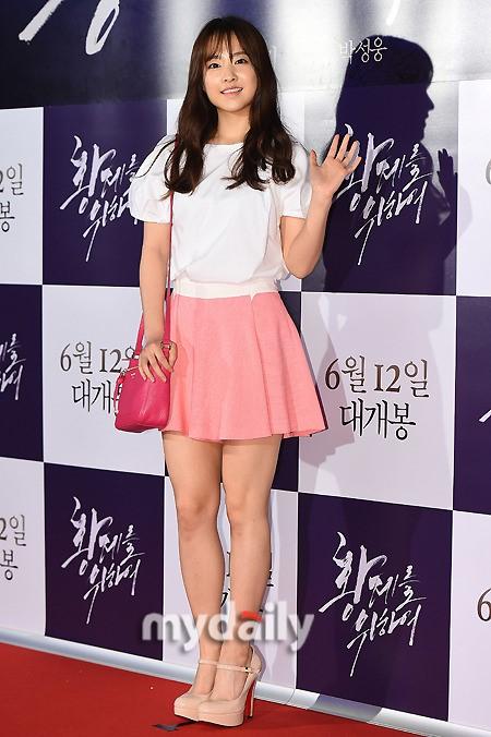 [MD포토] 박보영 '청순한 손인사'