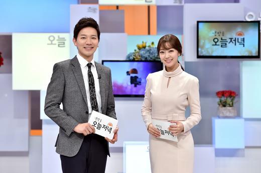 이재은 아나, '생방송 오늘 저녁' MC 발탁…김정근과 호흡
