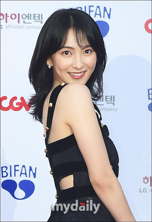 [MD포토] 강지영, '유혹의 눈빛'