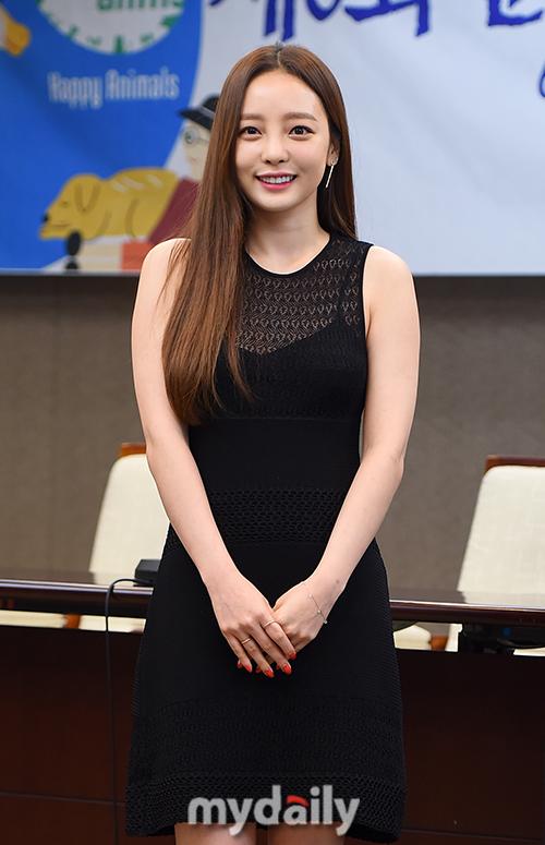 [MD포토] 구하라 '환한 미소'