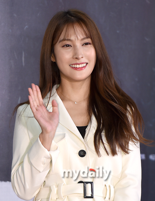 [MD포토] 박규리 '오랜만이에요'