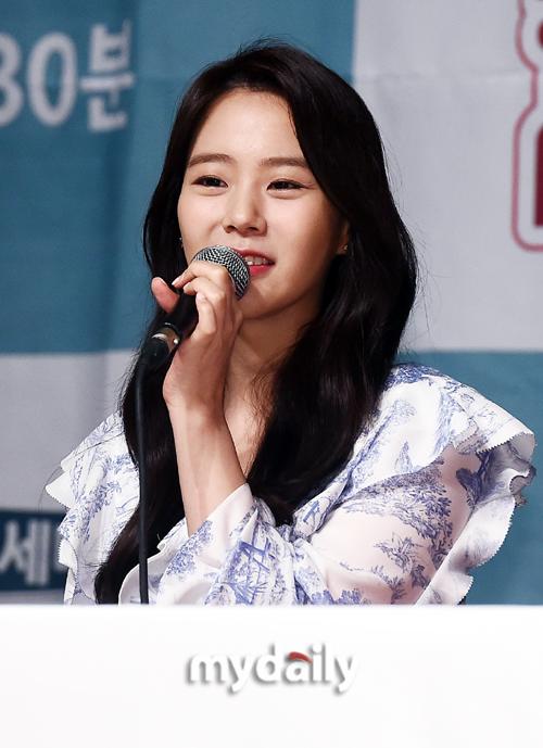 """[MD포토] 한승연 """"자유여행과 패키지 여행의 장점 세미팩 여행 추천"""""""