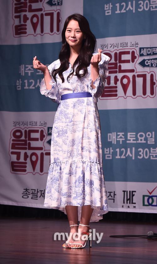 [MD포토] 한승연 '카라의 깜찍한 매력 버리고 성숙하게'