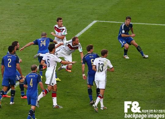 [독일-아르헨티나] 독일-아르헨티나, 팽팽한 균형..0-0 연장 돌입(후반 종료)