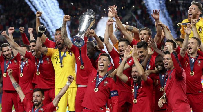 포르투갈, 네덜란드 꺾고 네이션스리그 초대 챔피언 등극