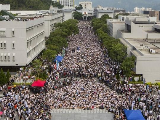 홍콩 시위 민주화 시위 실제 원인은 부의 불평등
