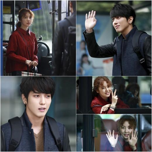 �Marry Him If You Dare� Dizisinde Yoon Eun-hye & Jung Yong-hwa Otob�s Dura��nda. /// 26.10.2013